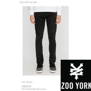 🌟 Zoo York Distressed Jeans (Black) 🌟